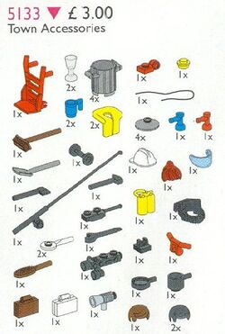 5133 Town Accessories