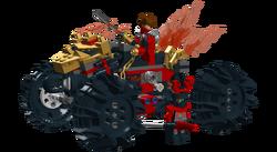 Kai's Battle ATV