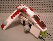 Mini republic gunship