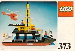 373-Offshore Rig with Fuel Tanker