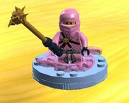 Pink Zane on spinner