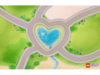850596 Tapis de jeu Heartlake City Friends