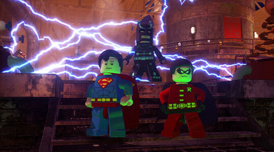 Lego Batman 2 Electro Suit 2