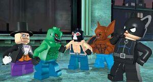 Lego batman croc