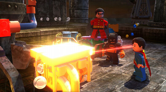 Lego Batman 2 Heat Ray
