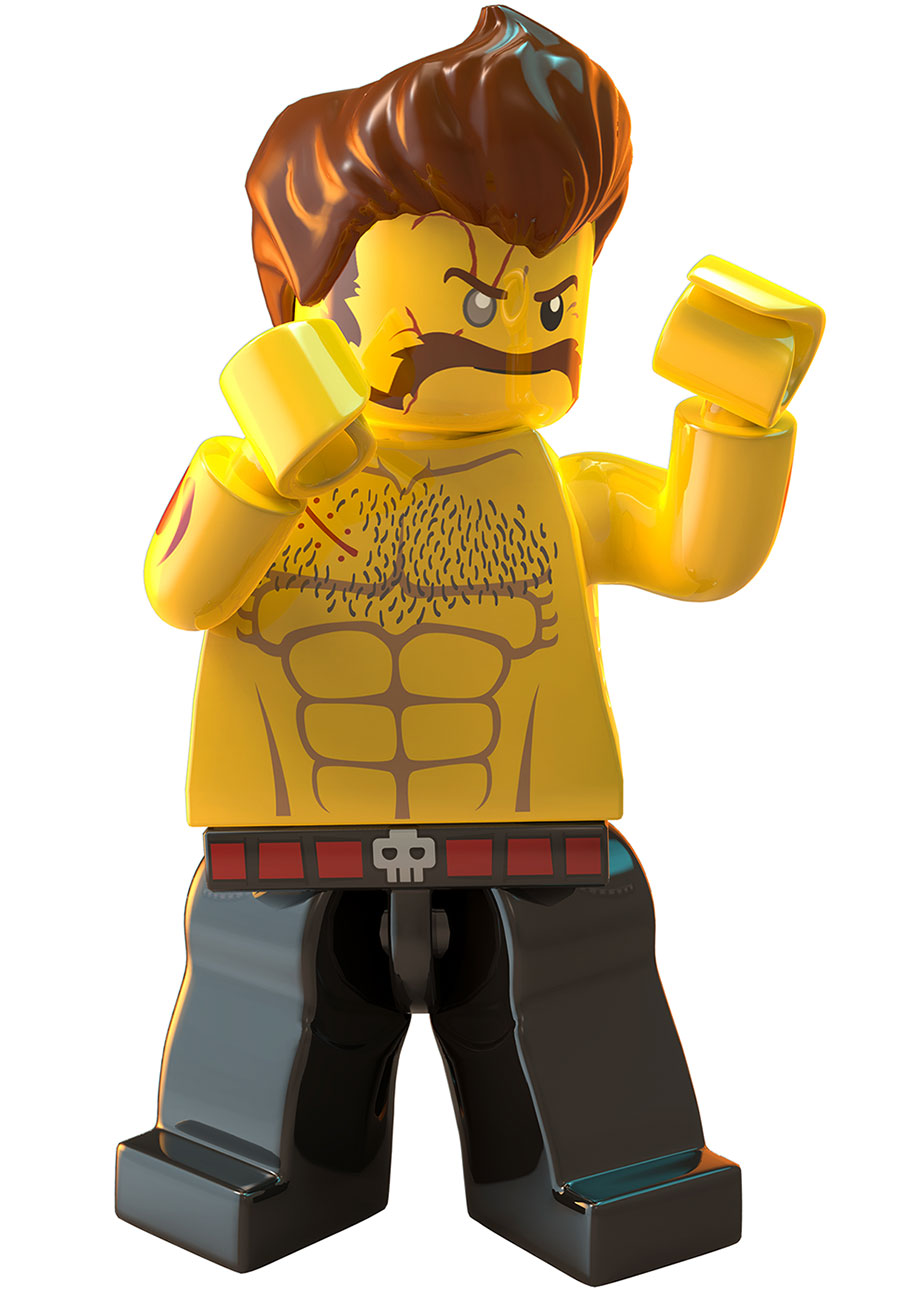 image rex fury jpg lego city undercover wiki fandom powered by wikia Harry Potter LEGO Coloring Pages  Chase Mccain Coloring Pages