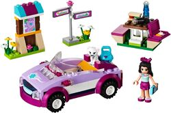 LEGO Friends Emma's Sports Car 41013 4