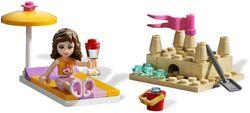 Lego friends 3937 olivias rennboot III