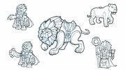 Lion AnimalKingdomCharactersLions