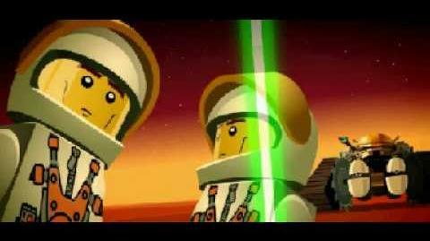 Lego mars mission intro