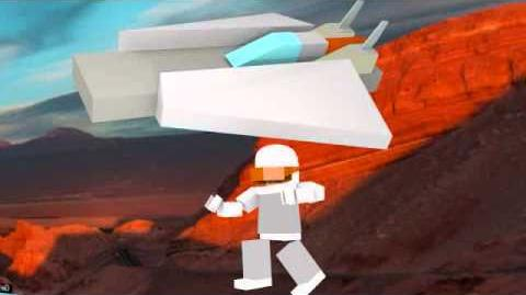 Lego mars mission animated series trailer
