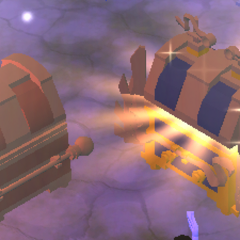 Two Pairs of Loot Chests