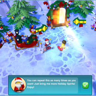 Part 3 of the conversation with Santa.
