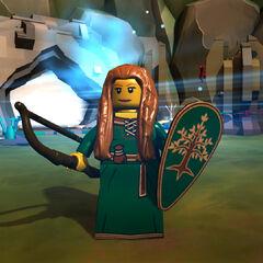 Forest Maiden in-game