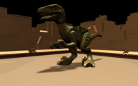 DEV zoo dino raptor medium