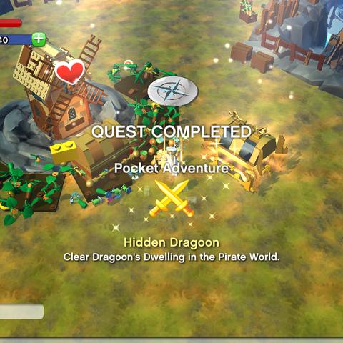 Hidden Dragoon Achievement awarded