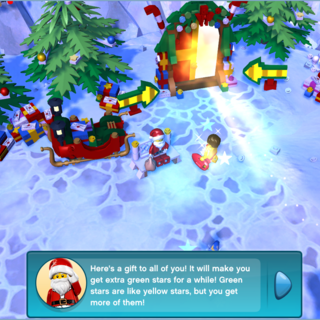 Part 2 of the conversation with Santa.