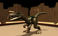 DEV zoo dino raptor small