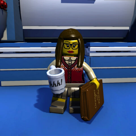 Librarian in-game
