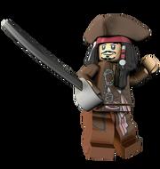 Lego-Captain Jack Sparrow