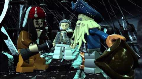 Dead Mans Chest gameplay trailer -- LEGO Pirates of the Caribbean The Video Game