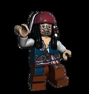 Lego-Cannibal Jack Sparrow