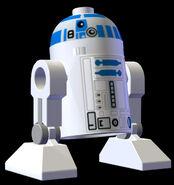 LEGO R2D2 Pose
