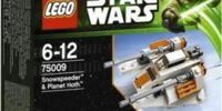 75009 Snowspeeder and Planet Hoth