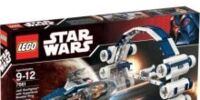 7661 Jedi Starfighter with Hyperdrive Booster Ring