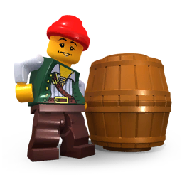 Guy in barrel