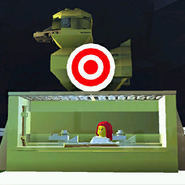 Duck shooting gallery