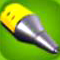 Classic Yellow Rocket Nose Cone