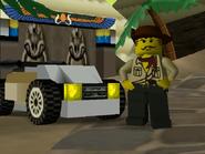 LEGO Racers Johnny Thunder