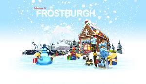 LEGOUniverse Frostburgh KEYVISUAL