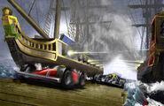 Racing ship battle XSMALL