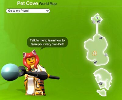 Pet Cove Icon Map