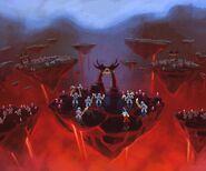 LEGO Universe Rayhawk Fire Battle