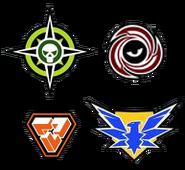 Factionsymbols