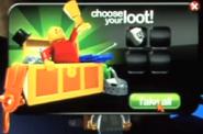 Treasure chest loot example