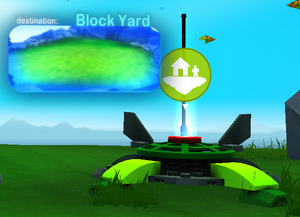 Block Yard Launchpad