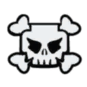 Darkling pirate captain skull