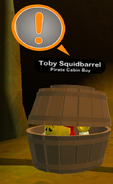 Toby Squidbarrel ingame