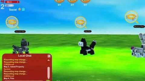 LEGO Universe DEV Walkthrough - Unreleased Version - Part 31 - Pets Test Zone