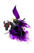 Samurai stromling horse poster