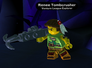 Renee Tombcrusher in-game 2