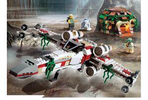4502-1 X-wing + Yoda