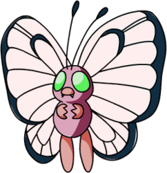 012 Butterfree OS1 Pink Shiny
