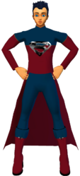Superman RedBlu Coatsuit