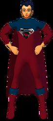Superman RedBlu Suit 2
