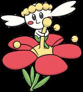Flabébé Red Flower DW